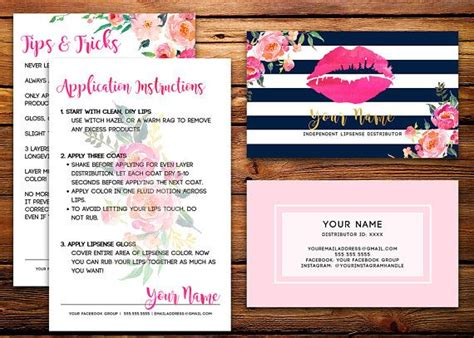 Senegence Business Card Template by The 25 Best Ideas About Lipsense Business Cards On