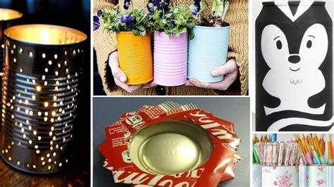 ideas de como hacer arbol navide241o con latas recicladas ideas originales para reciclar latas en casa sur es