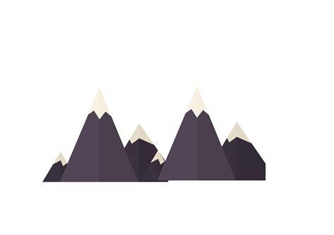 mountain vector black creative snow mountain png