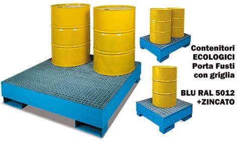 vasca raccolta olio vasche di raccolta per fusti olio