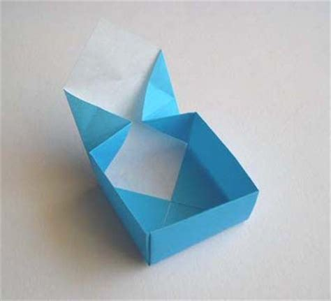 Simple Origami Basket - simple origami box diy paper gift easy