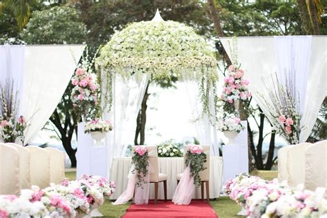 Garden Wedding Concept In Malaysia by Dektos Garden Wedding Pictures