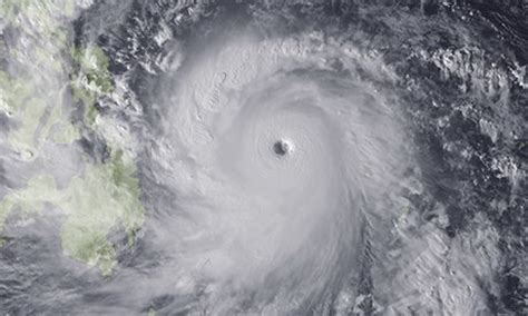 typhoon haiyan: how does it compare with other tropical