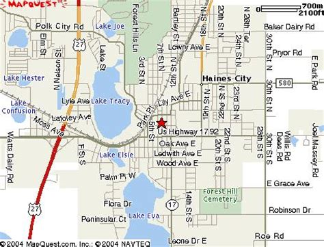 map haines city florida cromer international press company information
