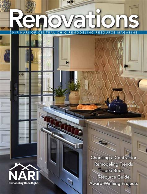 home the remodeling and design resource magazine 2017 nari of central ohio remodeling resource magazine by