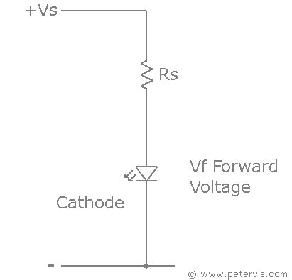 resistor value to drop voltage led resistor calculator