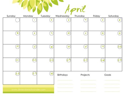 printable monthly planner free download free printable monthly calendar april 2013