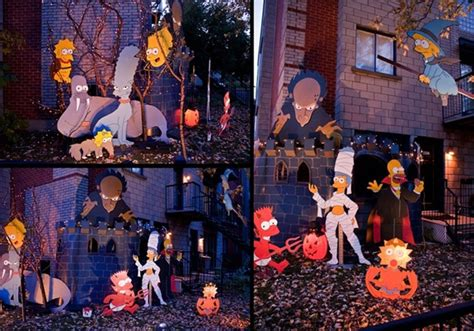 halloween decorated homes 45 halloween decorations that convert homes into real
