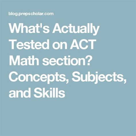 act math section practice 17 best ideas about act math on pinterest act prep act