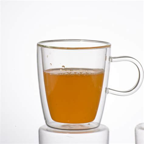 Glass Coffee Cup promotional gift wall glass cup glass coffee cup