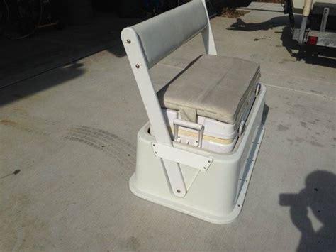 boat cooler seat backrest 90qt cooler seat with backrest saltwater fishing forums