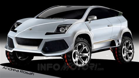 Lamborghini Ute The Bull Rages On Lamborghini Suv Renderings Autoblog