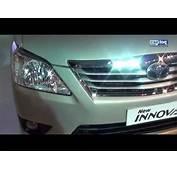 Toyota Innova Model Specification Exterior Interior