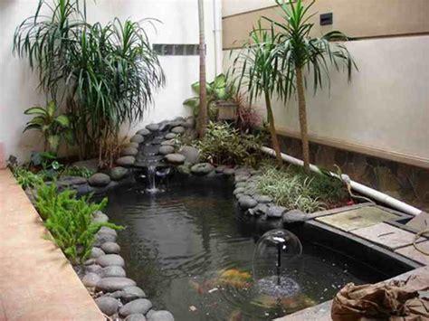 desain taman bunga mini contoh desain taman belakang rumah minimalis modern