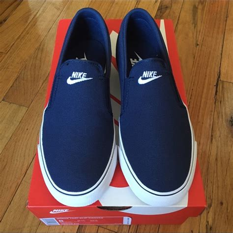 Flat Shoes Nk01 Nike Slip nwt nike s slip on canvas shoes sz8 boutique nike