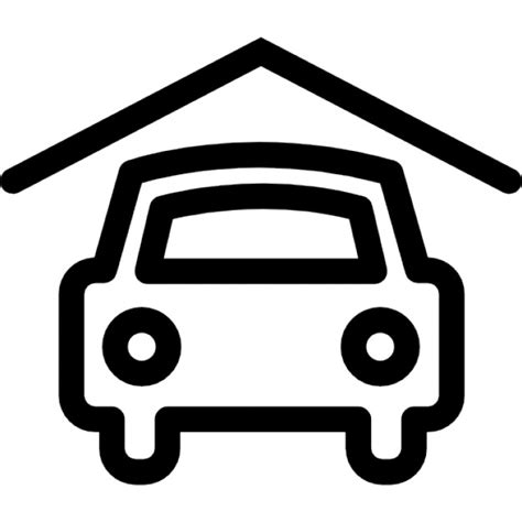 Garage Icon by Garage Icons Free