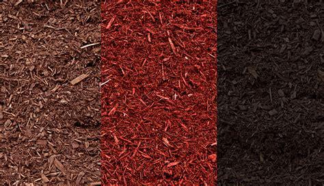 mulch colors color enhanced mulch black brown sensenig s