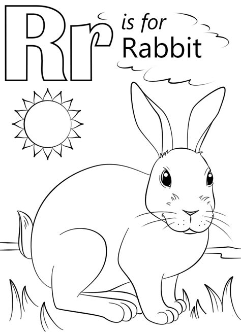√Mewarnai Gambar Kelinci Anak TK, PAUD dan SD