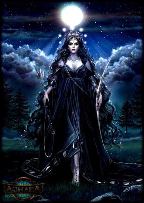 Goddess Of artemis goddess of the hunt moon princess ya