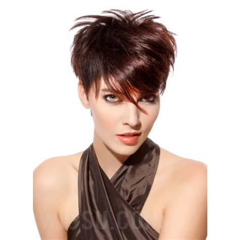a hair style that i can still tie up modern short pixie haircut remy human hair 100 hand tied