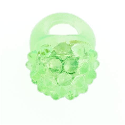 light up jelly rings led light up flashing jelly bumpy rings 24 12 count