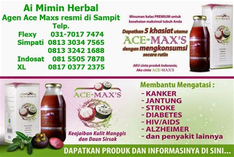 Agen Obat Herbal Ace Maxs Tegal agen ace maxs di sit