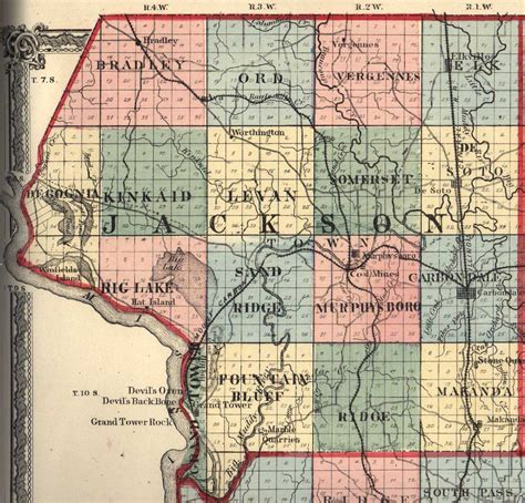 Jackson County Illinois Search Jackson County Illinois Maps And Gazetteers