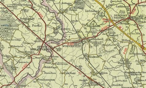 map uk wolverhton wolverton map