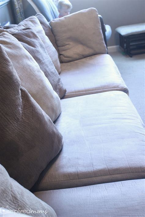 remove stains from microfiber couch how to clean your couch to look like new simply real moms