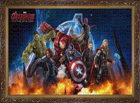 film jigsaw age marvel hero super heroes avengers comics puzzles decor