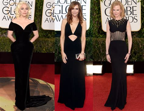 The Black Dress Carpet Fashion Awards by Golden Globes 2018 Black Dress Code Carpet Fashion