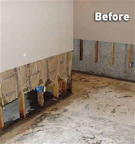 basement wall repair for drywall in flooded basements