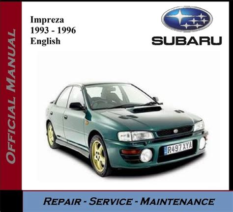 car repair manuals online free 1993 subaru loyale parental controls 1993 subaru loyale workshop manual free download subaru impreza 1993 2008 repair manual