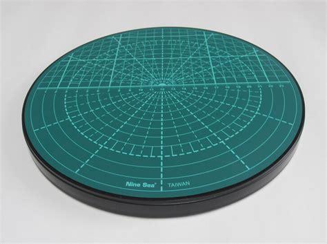 Degree Mat by Zlqgd830 1pc Circular Cutting Mat Pvc 360 Degree Rotating