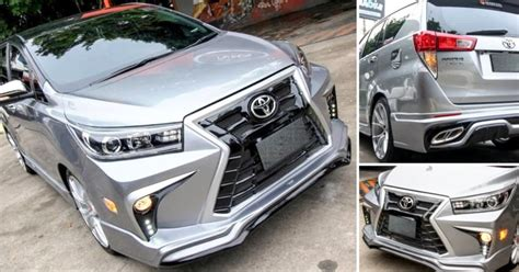 Toyota Innova Crysta 2020 India by Meet Lexus Inspired Modified Toyota Innova Crysta