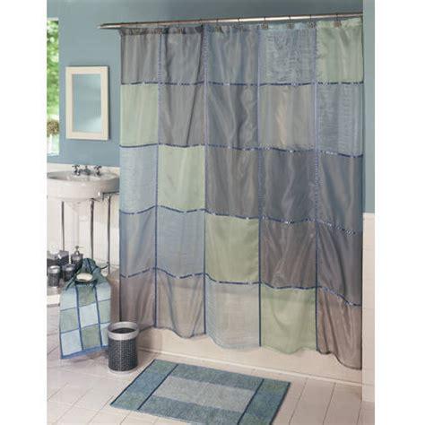 walmart fabric shower curtains mosaic fabric shower curtain walmart com