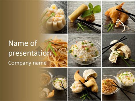 powerpoint food templates food recipes powerpoint template id 0000010028