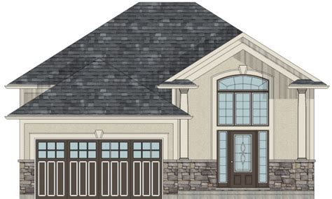 Raised Bungalow House Plans by Bungalow House Plans With Attached Garage Bungalow House