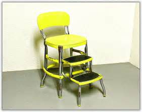 kitchen step stool with seat home design ideas