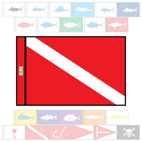 boat dive flags marine boat flags diver down marine boat flag from
