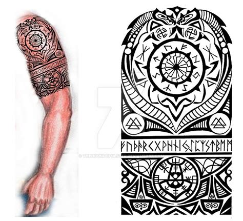 norwegian tribal tattoos the gallery for gt viking designs
