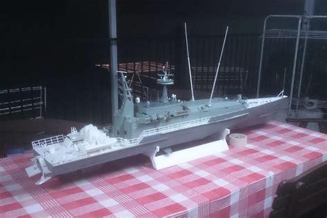 boat us radio check man 3d prints huge 5 1 2 foot long rc armidale class