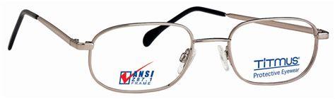 titmus fc 703 with side shields eyeglasses free shipping