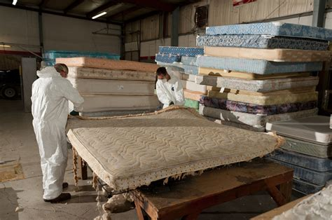 How Are Mattresses Recycled by Back Mattress Recycling Creative Reuse