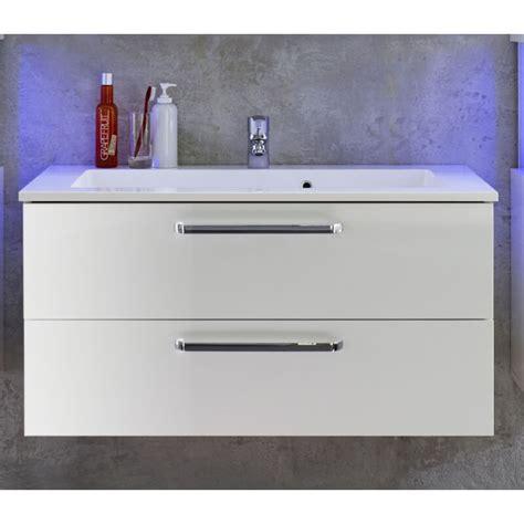 Meuble Sous Lavabo Design by Meuble Sous Lavabo Design Blanc Brillant Massalia