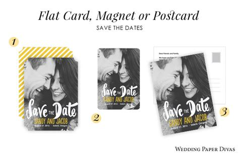 Wedding Paper Divas Save The Date Postcards by Save The Date The Gorgeous Of Announcing Your