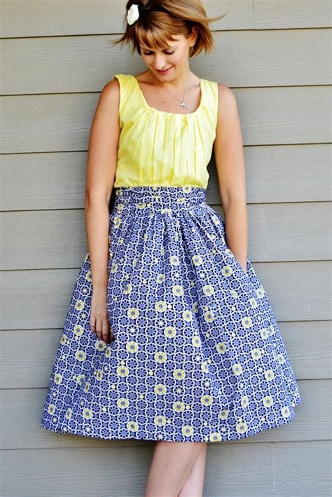 pattern making gathered skirt a gathered dress allfreesewing com