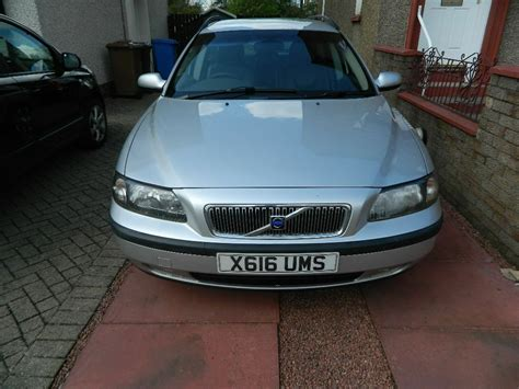 volvo v70 estate 2 4 petrol manual car for sale 2000 x reg volvo v70 estate 2 4 petrol 5 speed manual gearbox in blackburn west lothian