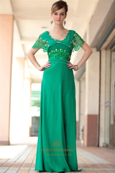 green dress green lace sleeve dress green dress with sleeves