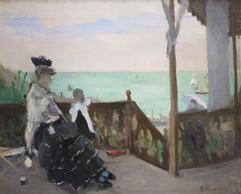 In A by File In A Villa At The Seaside By Berthe Morisot Norton Simon Museum Jpg Wikimedia Commons